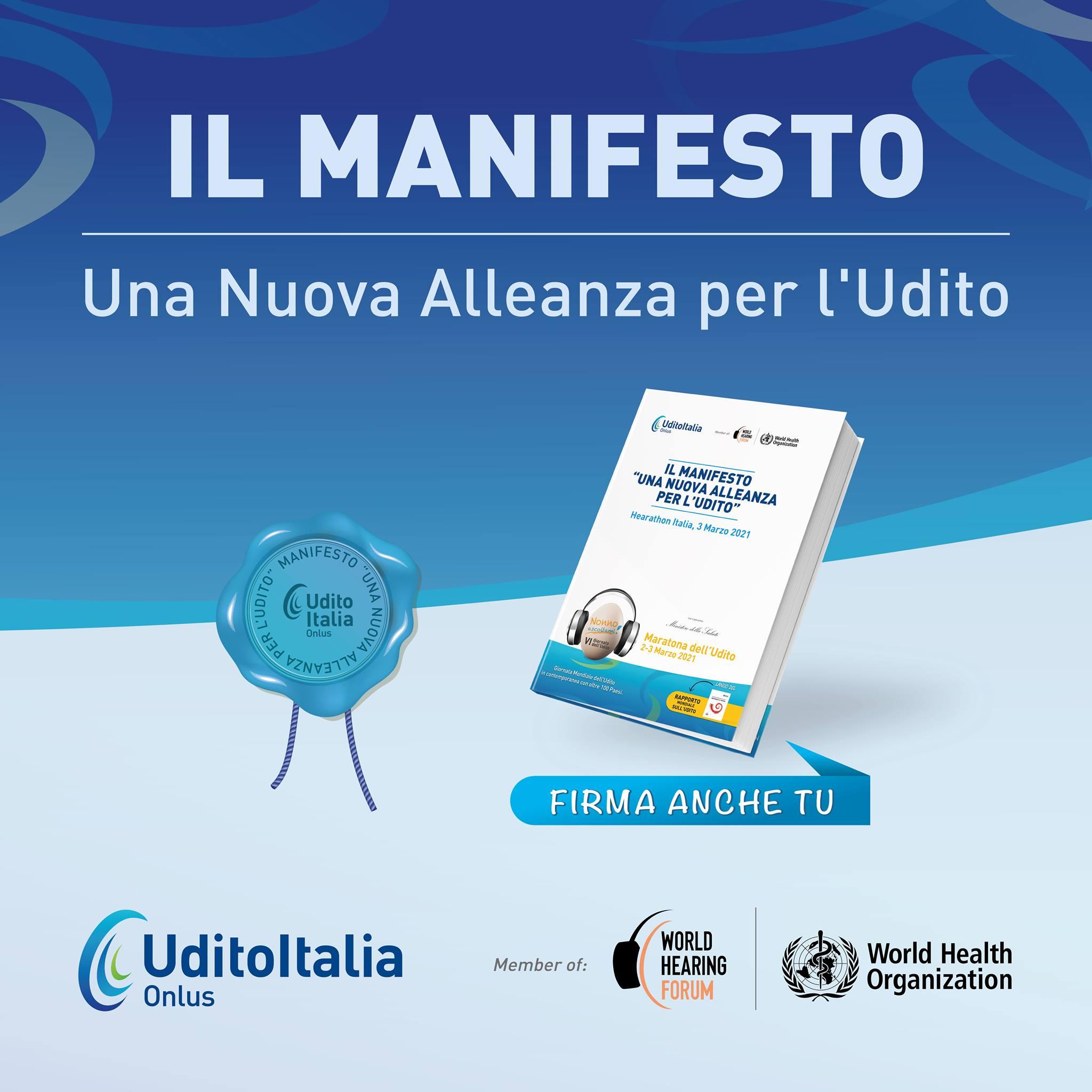 Firma anche tu il Manifesto, unisciti alla Nuova Alleanza per l'Udito!