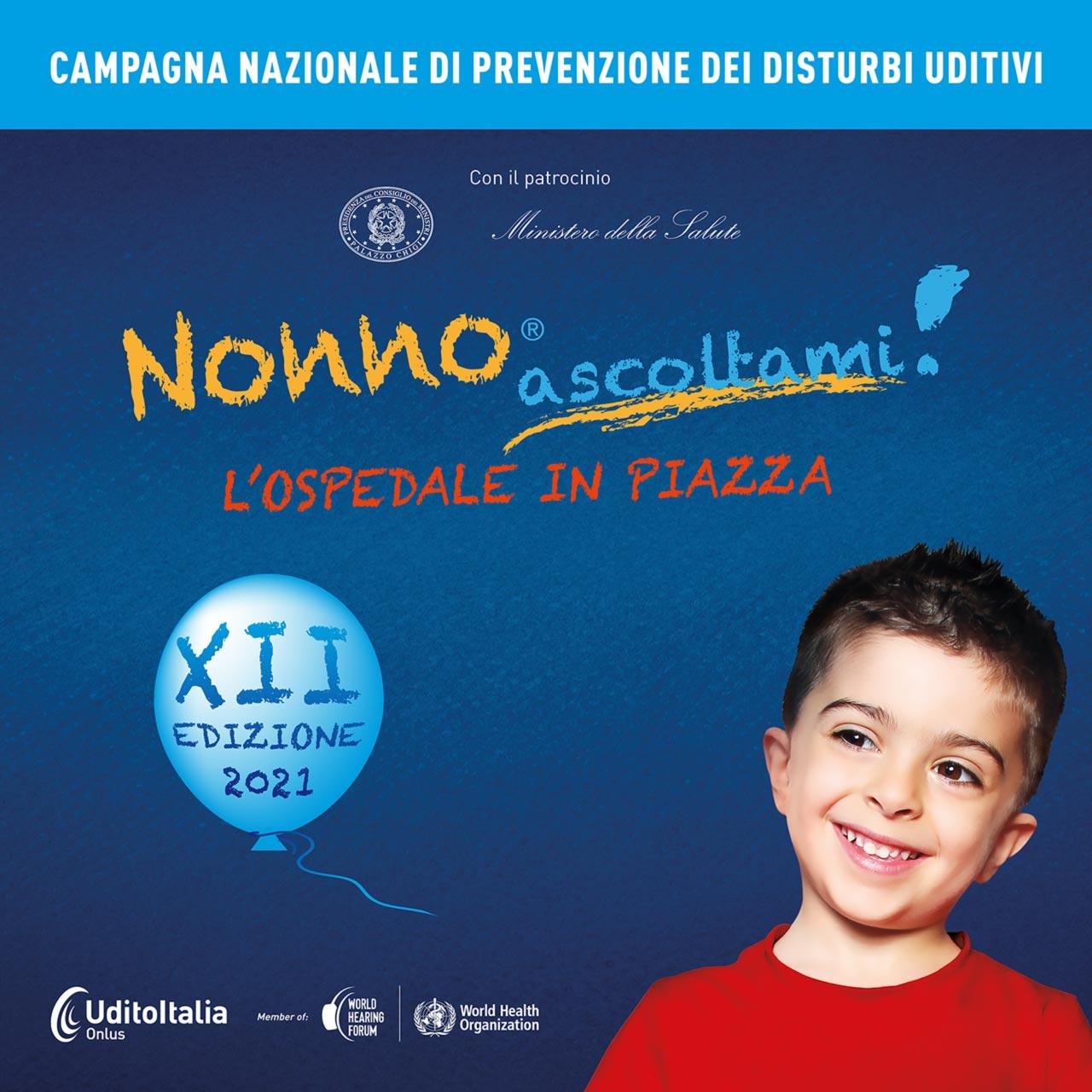 Tornano le domeniche di prevenzione di Nonno Ascoltami! nelle piazze italiane
